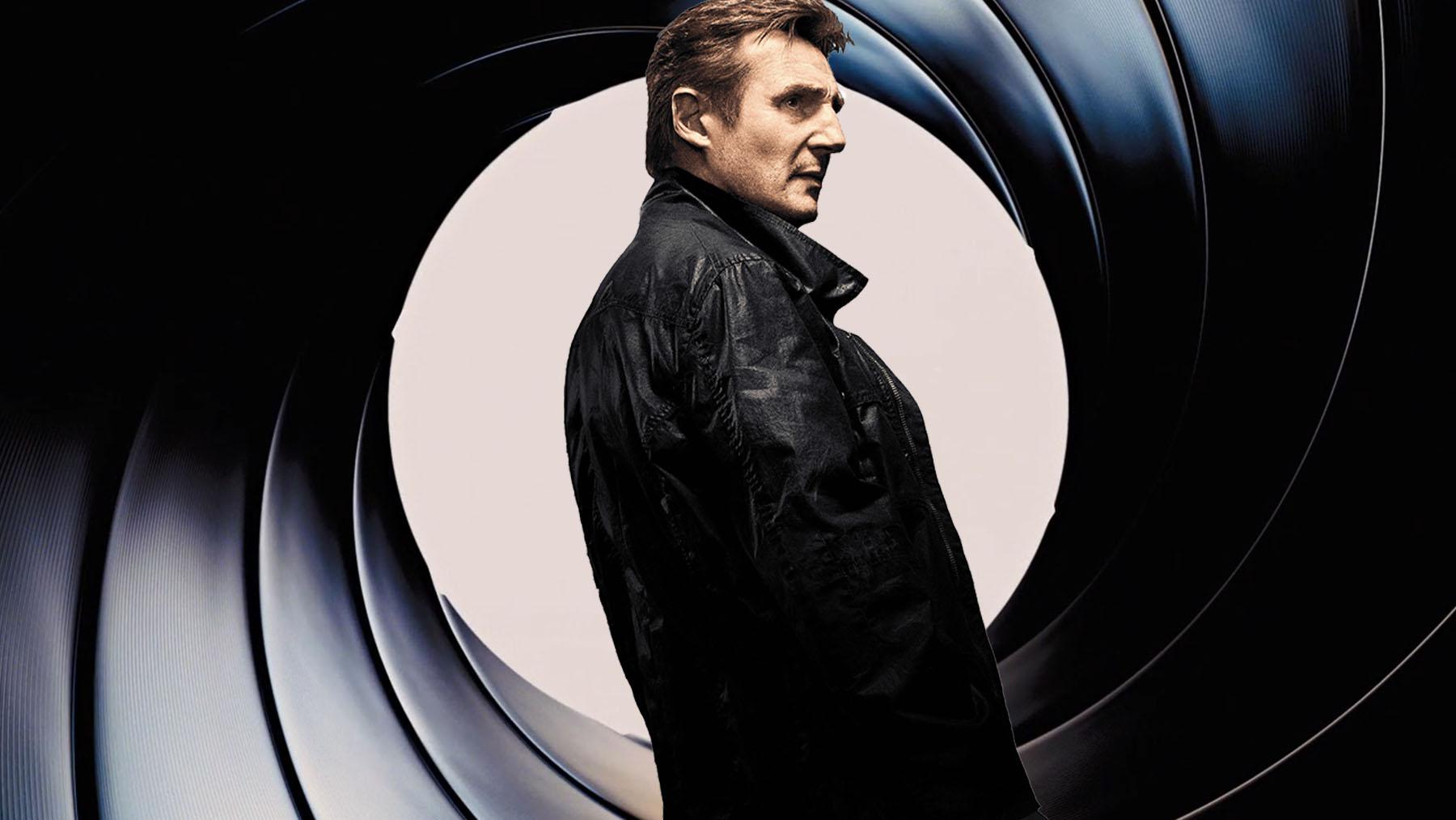 Liam Neeson nunca quiso ser James Bond