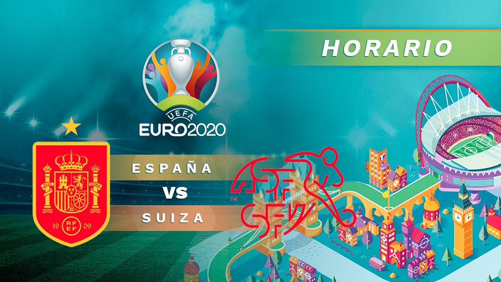 España – Suiza: cuartos de final de la Eurocopa.