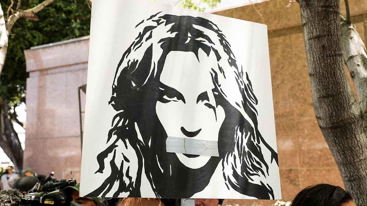 Manifestación a favor de Britney Spears