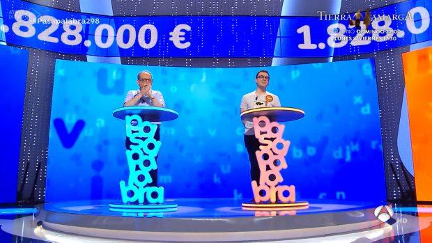 Pablo Díaz y Javier Dávila se la juegan en El rosco de Pasapalabra