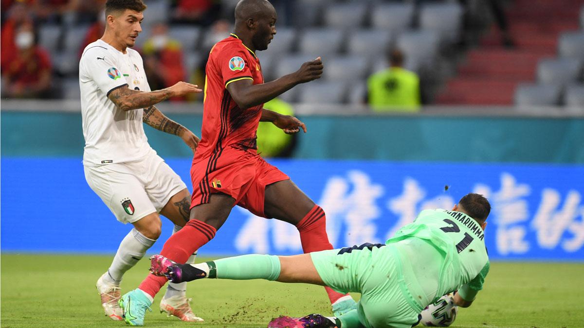 Bélgica – Italia; partido de cuartos de final de la Eurocopa en directo