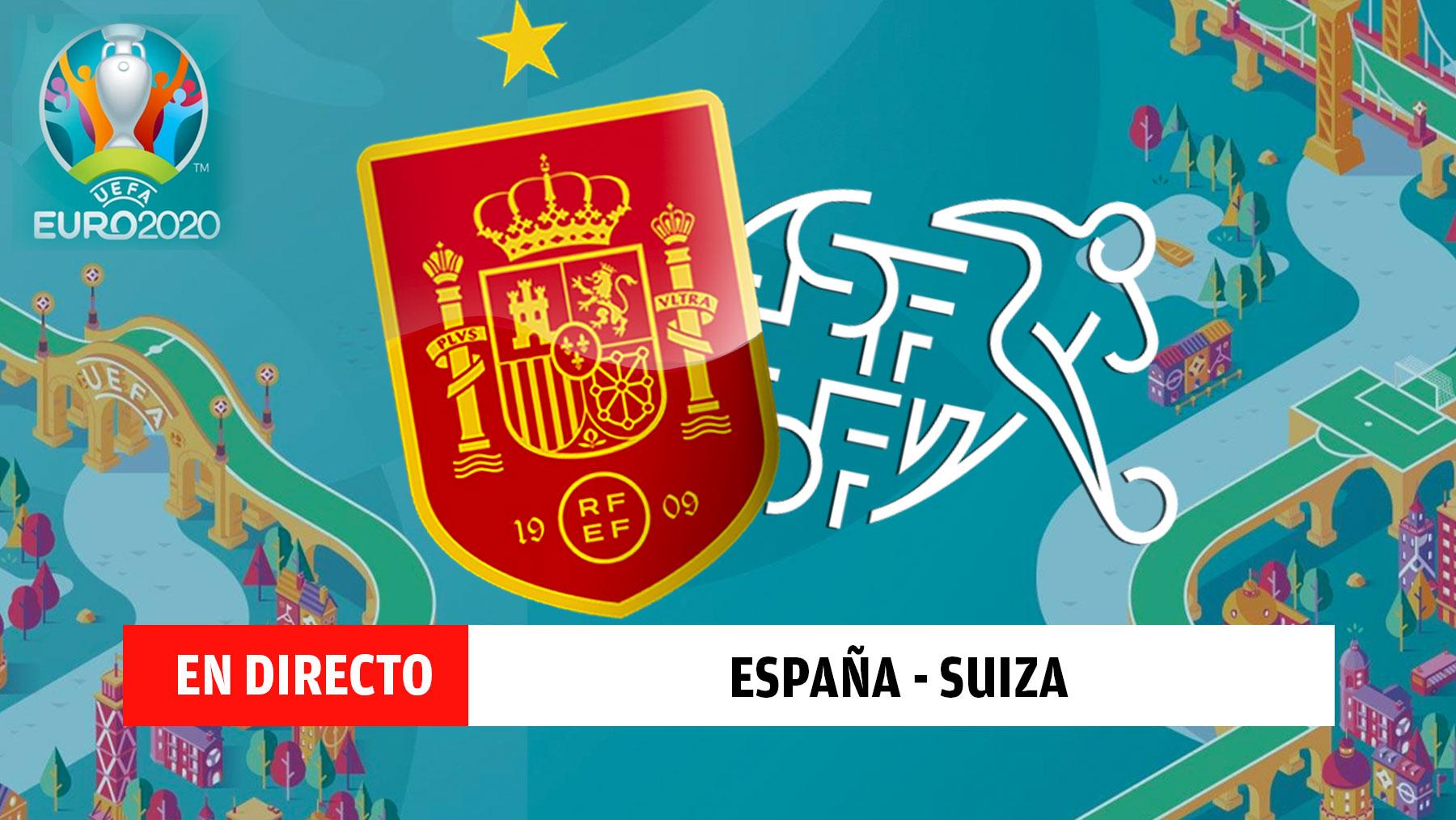 España – Suiza | Eurocopa, en directo.