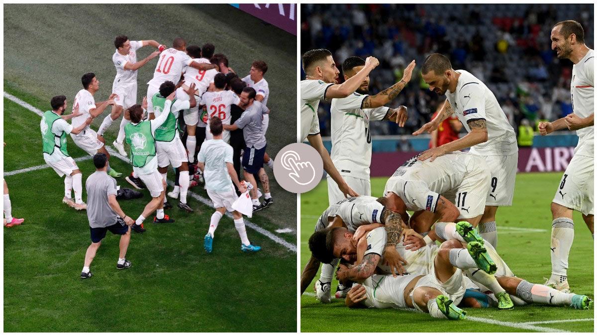 España-Italia, en semifinales: ¿Quién pasará a la final de la Eurocopa?