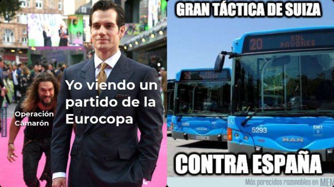 Los memes celebran la victoria de España contra Suiza en la Eurocopa