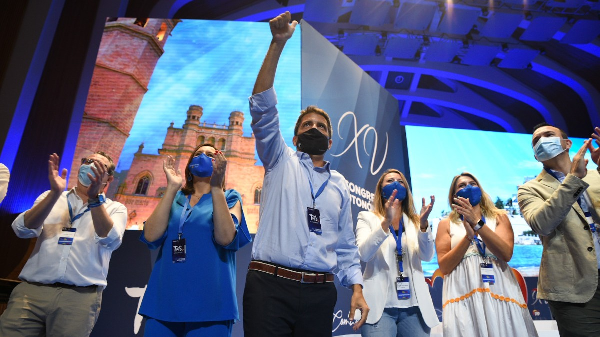 El nuevo líder del PP valenciano, Carlos Mazón.
