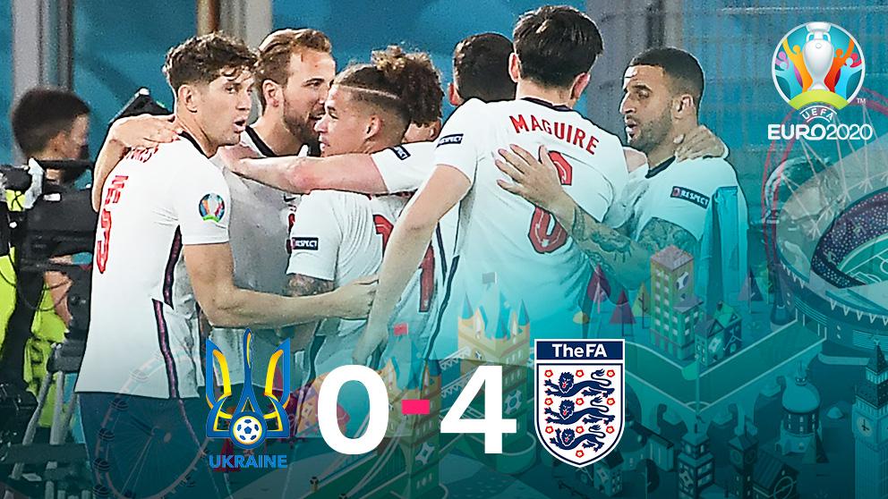 Crónica del Ucrania – Inglaterra