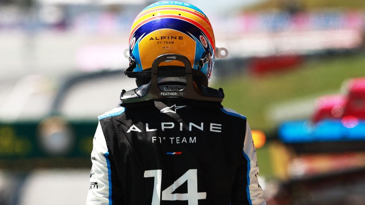 Fernando Alonso, en el Gran Premio de Austria. (Getty)