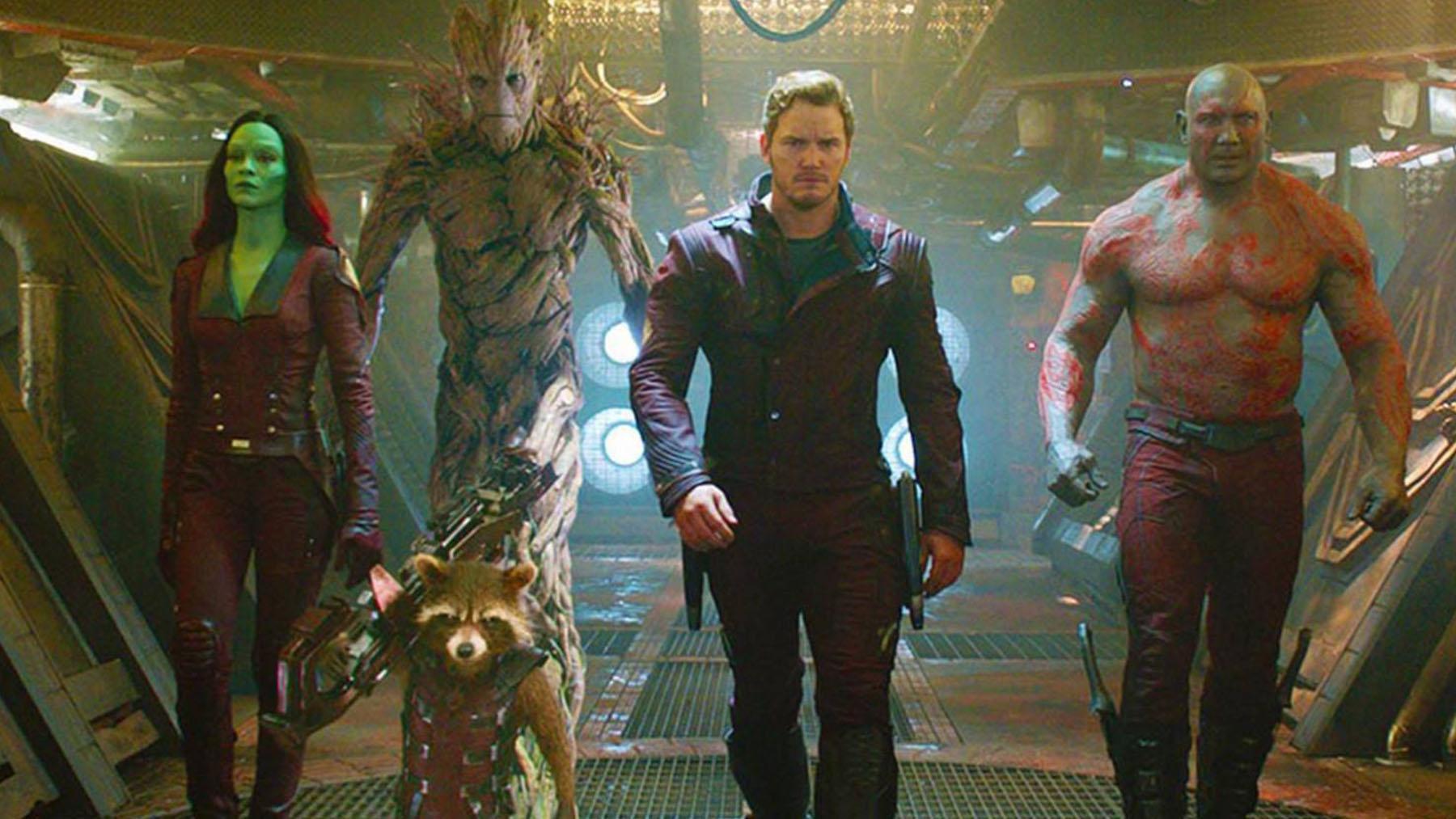 «Guardianes de la galaxia» (Disney)