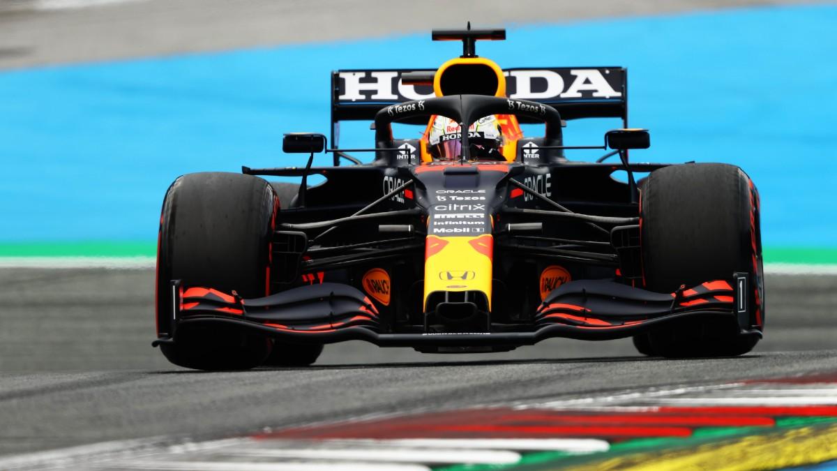 Max Verstappen, en el Gran Premio de Austria. (Getty)