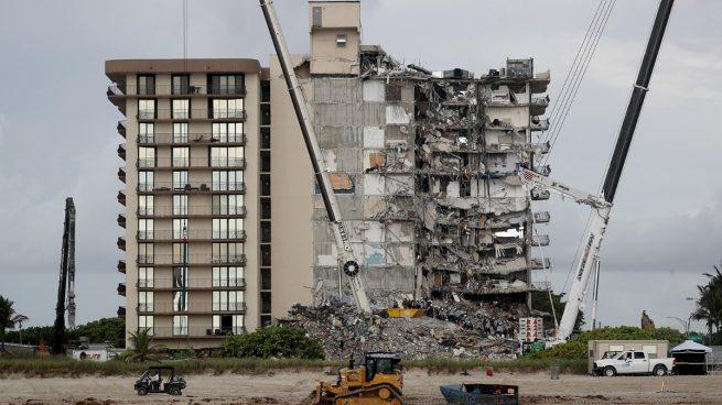 Miami derrumbe edificio