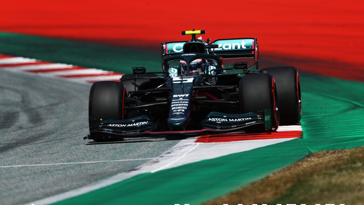 Vettel, en el GP de Austria. (Getty)