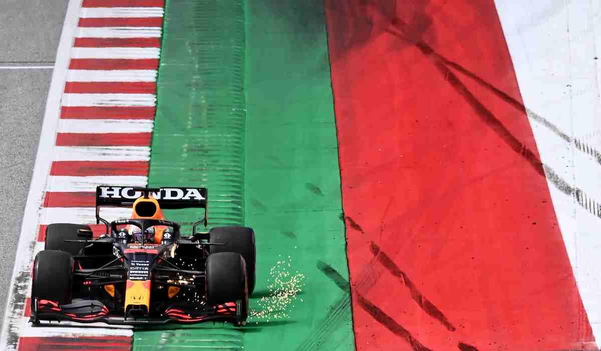 Max Verstappen durante el Gran Premio de Austria de Fórmula 1. (AFP)