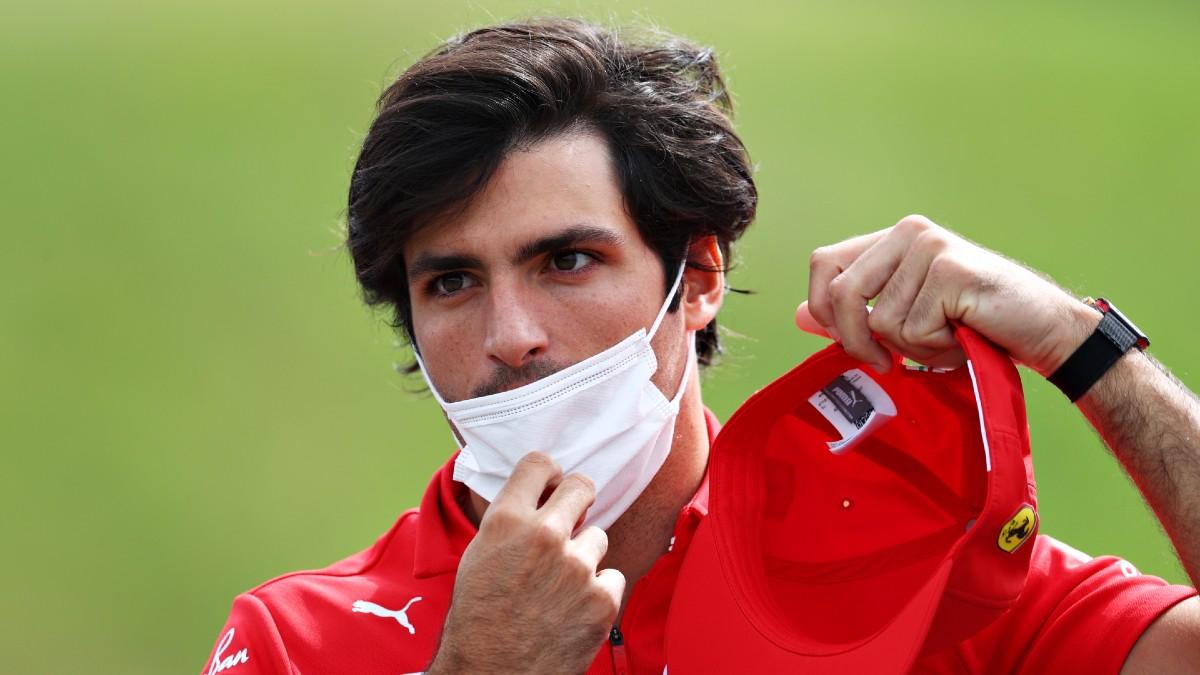 Carlos Sainz, en el Gran Premio de Austria. (Getty)