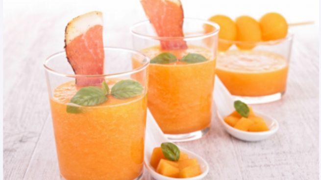 Gazpacho de melón con yogur, la receta más fresca del verano