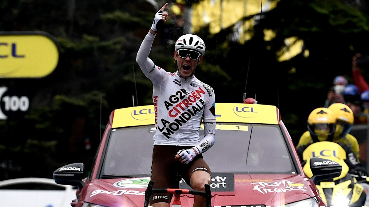 O'Connor celebra su victoria. (AFP)
