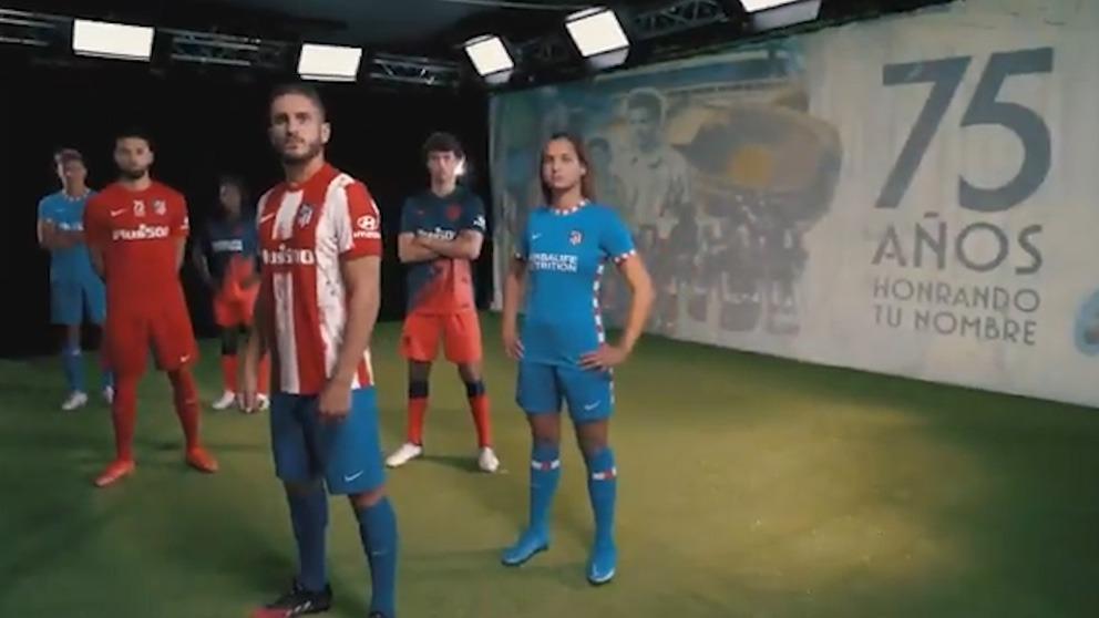 Así son las nuevas equipaciones del Atlético.