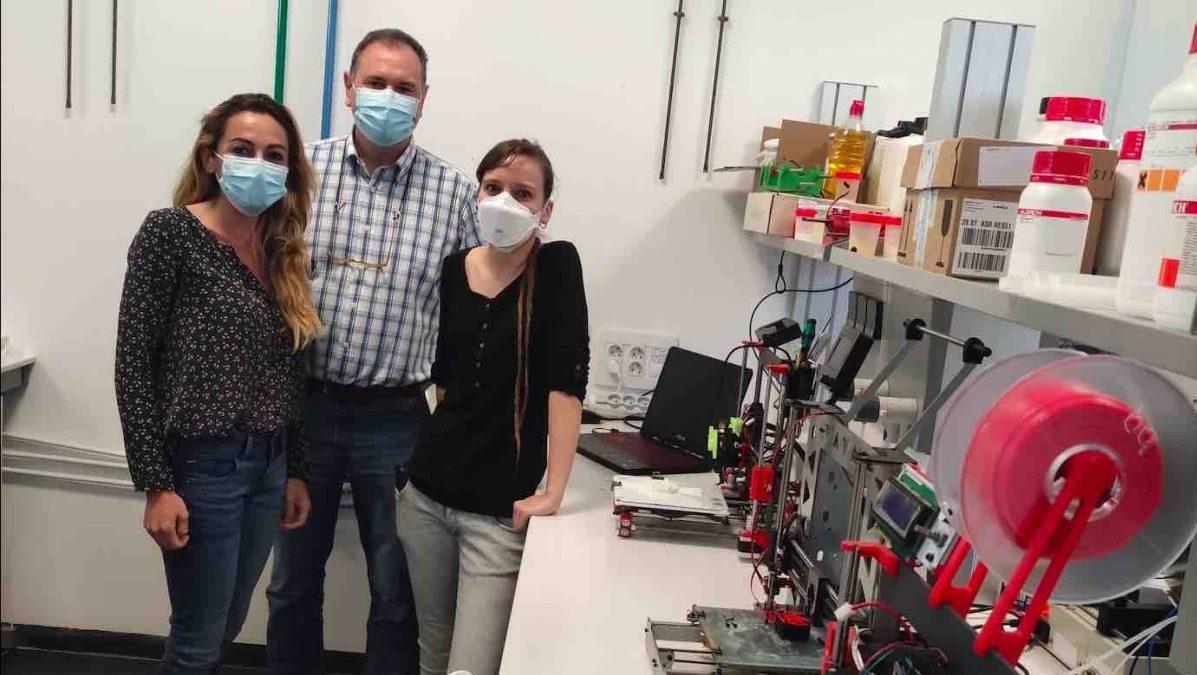 Investigadores de la Universidad de Huelva que han participado en el estudio (FUNDACIÓN DESCUBRE).