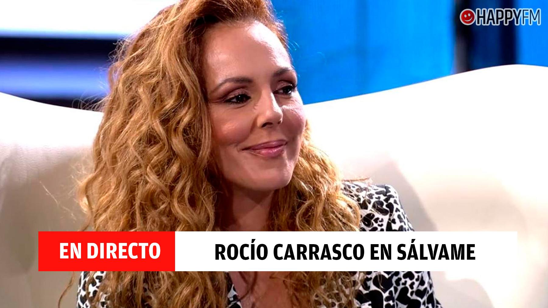 Rocío Carrasco, en directo