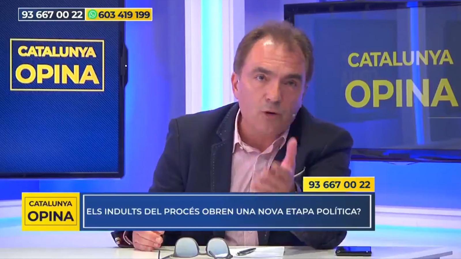 El presidente de Catalunya Acció, Santiago Espot.