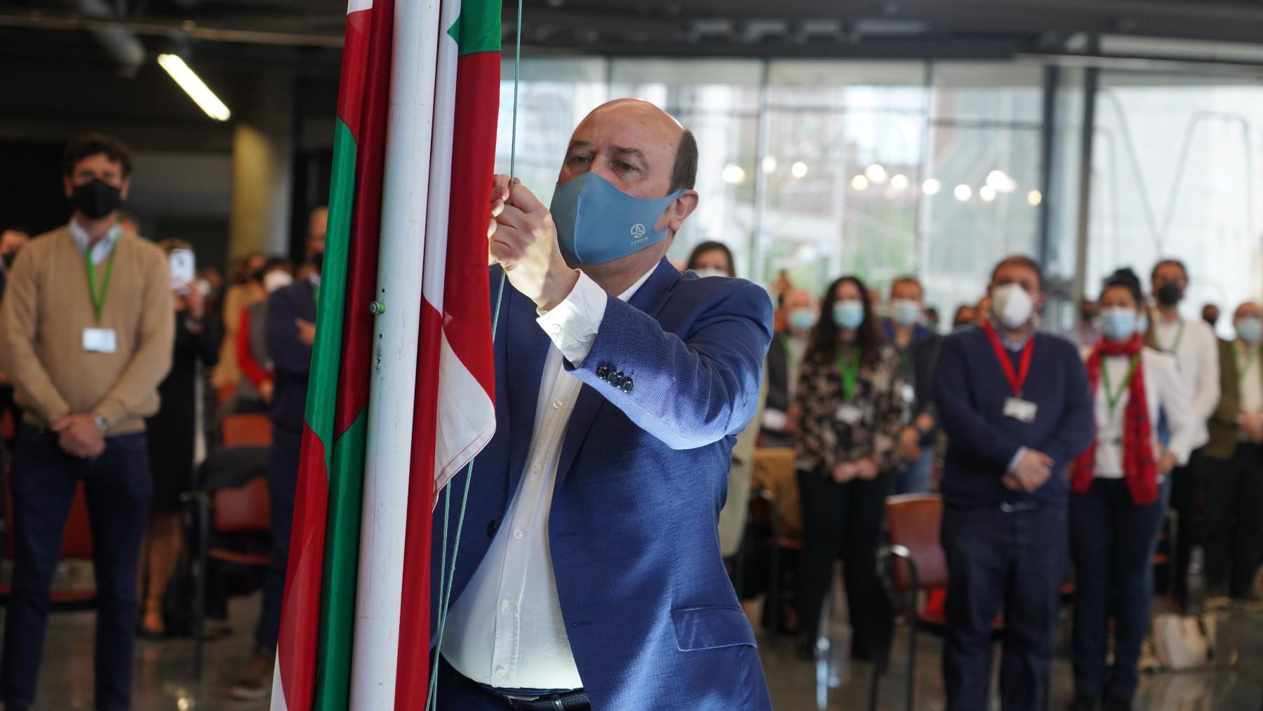 Andoni Ortuzar, presidente del EBB del PNV. (Europa Press)
