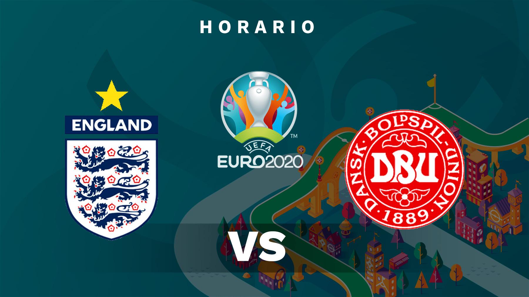 Eurocopa 2020: Inglaterra – Dinamarca | Horario del partido de fútbol de la Eurocopa.