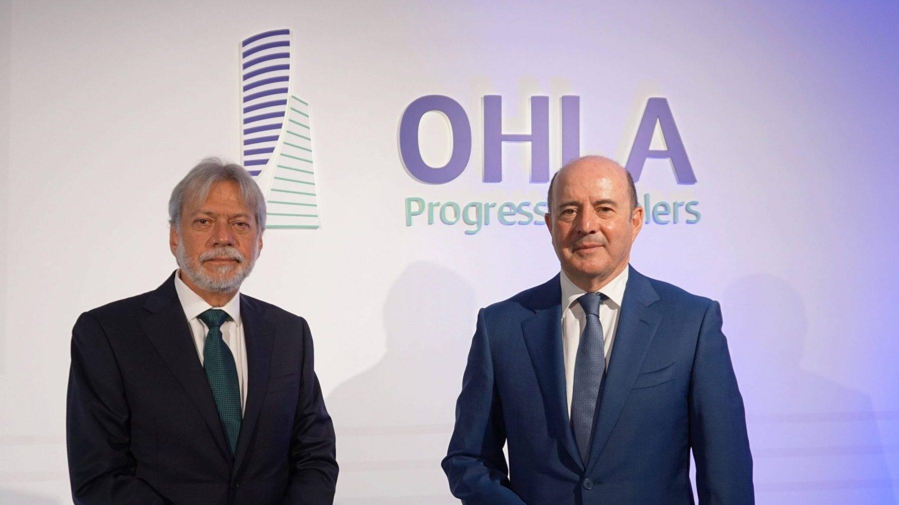 Luis Amodio y José Antonio Fernández, presidente y CEO de OHLA.