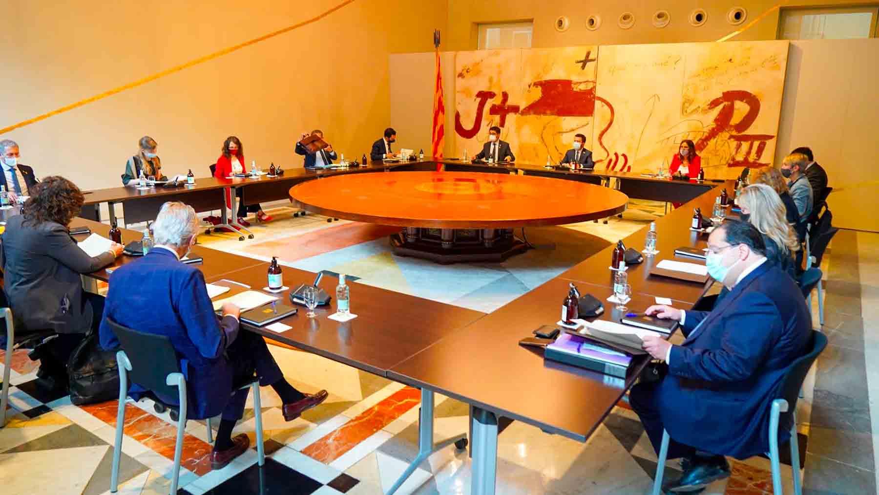 Reunión del Consell Executiu.