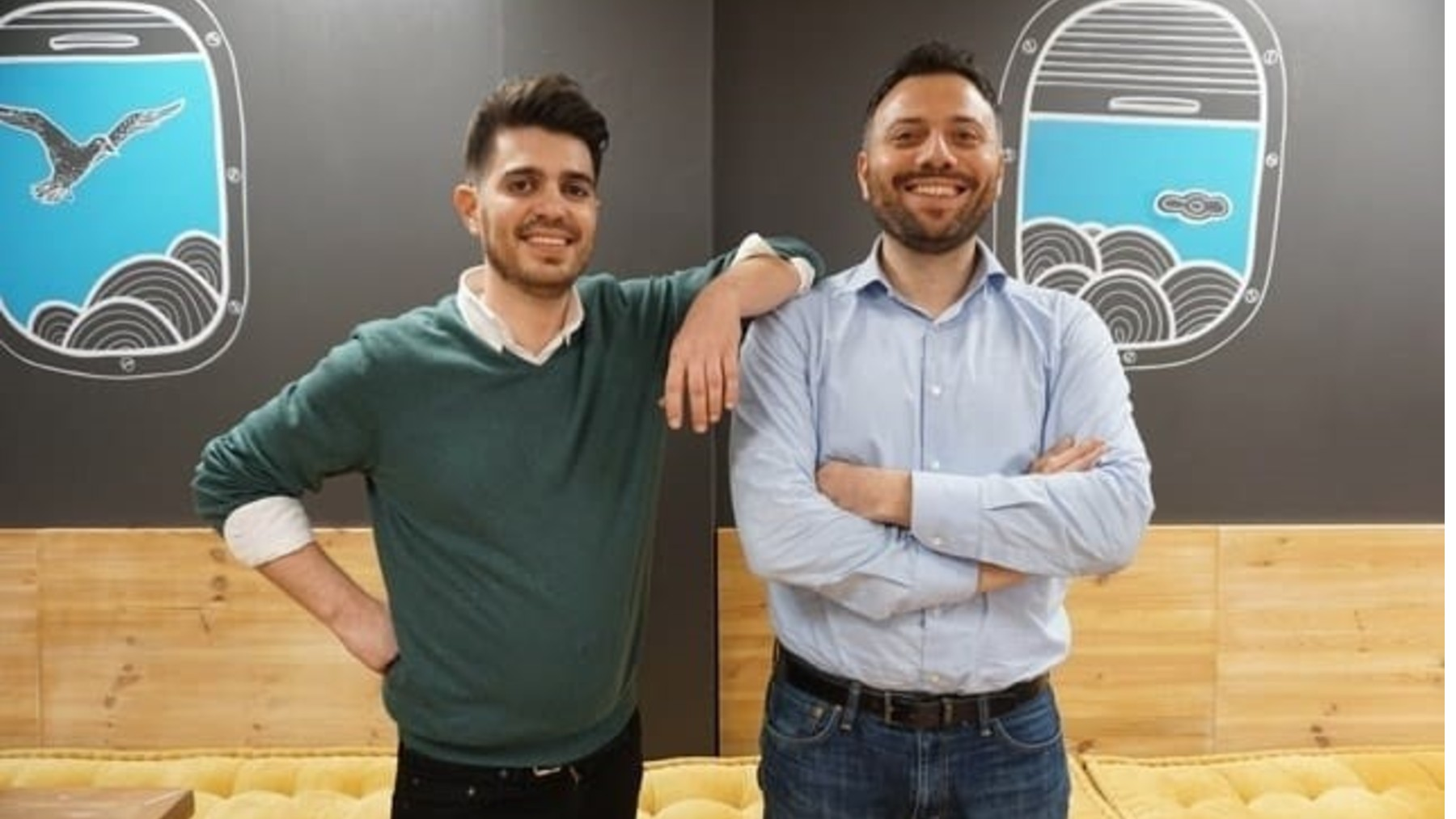 Javier Suárez y Avi Meir, cofundadores de TravelPerk