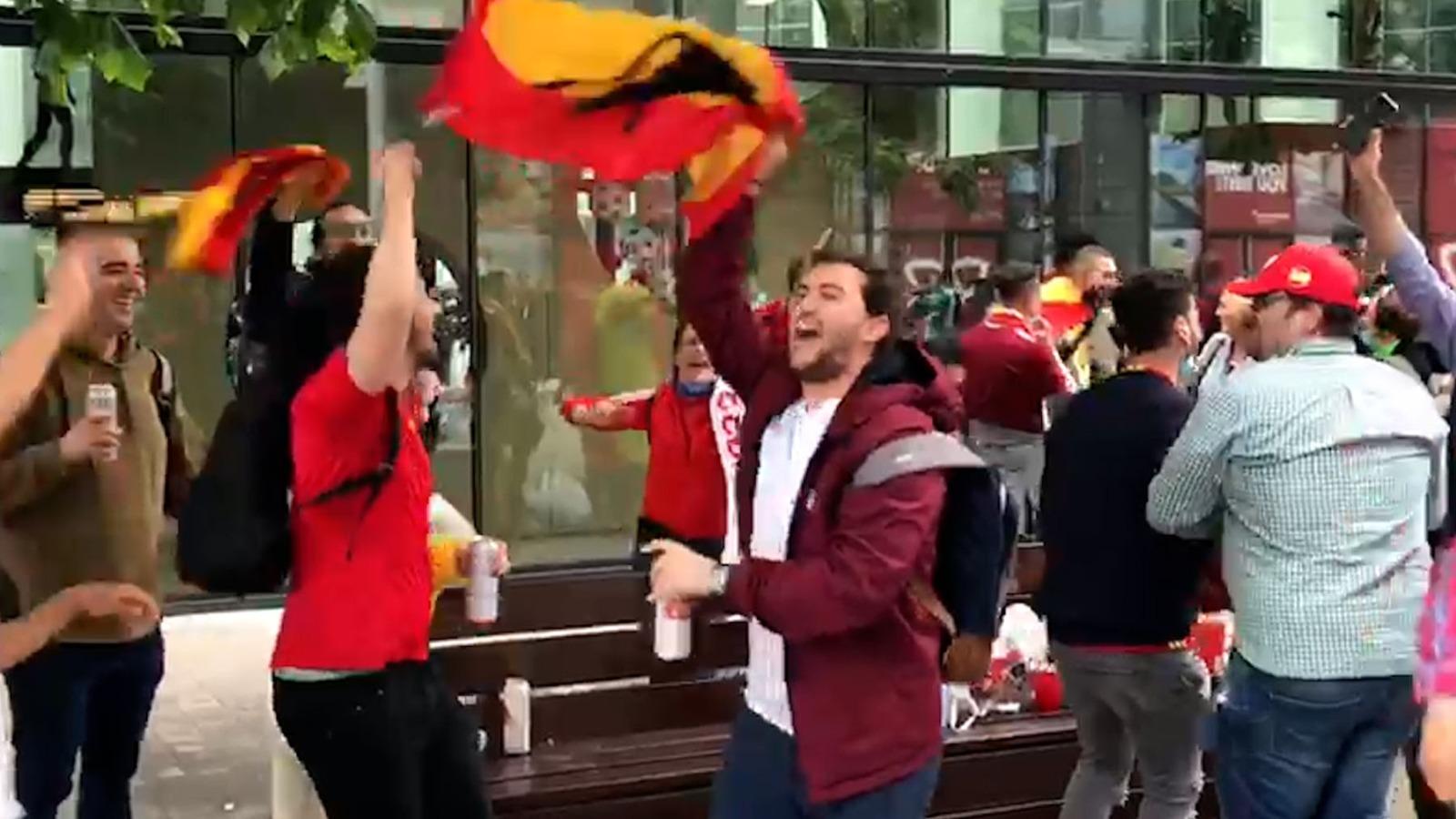 Más de 9.000 españoles estarán en Wembley.