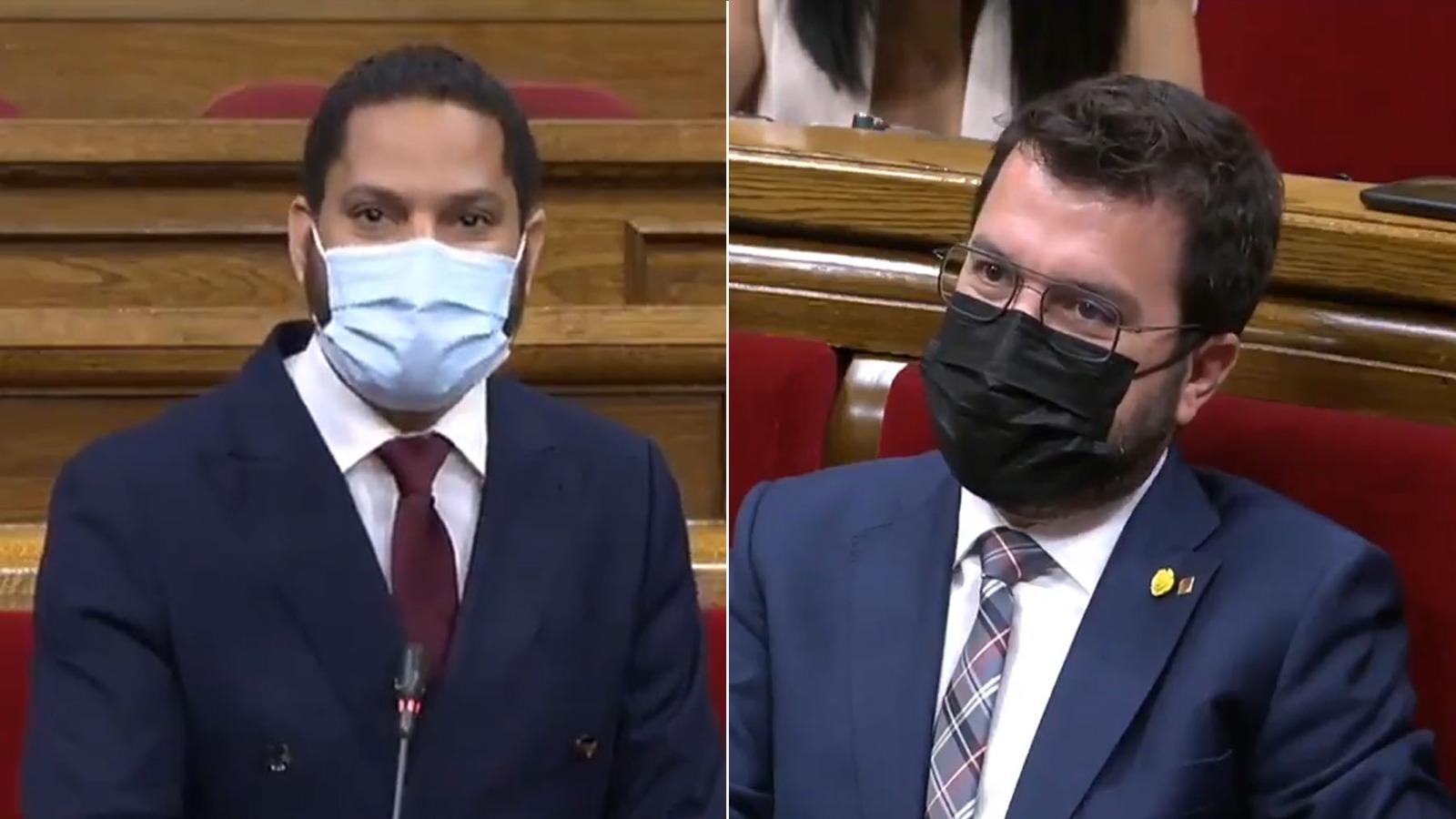 Ignacio Garriga y Pere Aragonès.