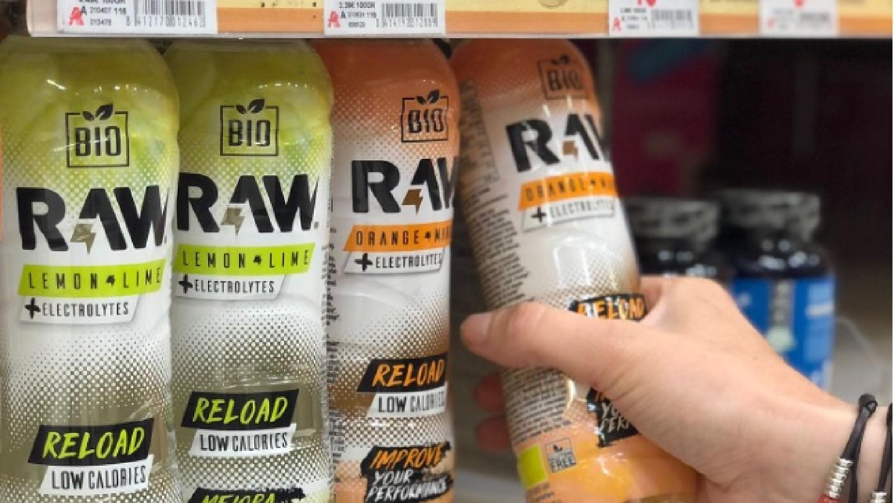 Alcampo y la start-up asturiana RAW Super Drink