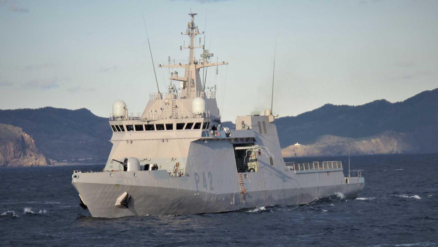 El buque de acción marítima 'Rayo'. Foto: Europa Press