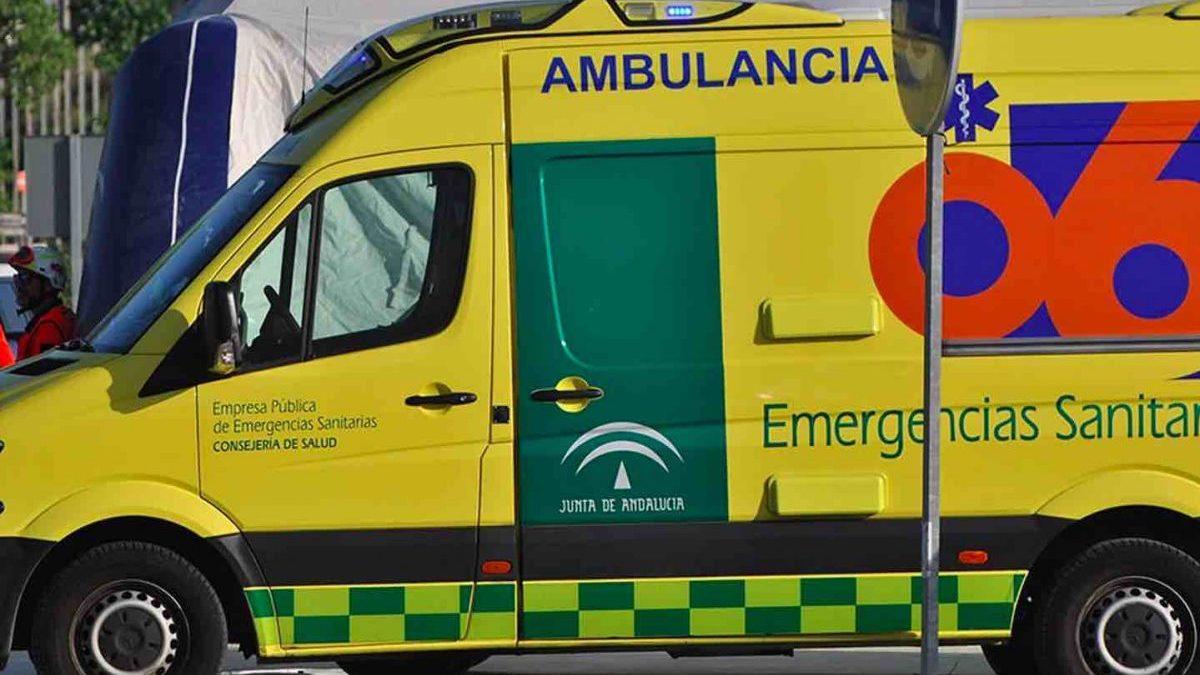Ambulancia de EPES 061.
