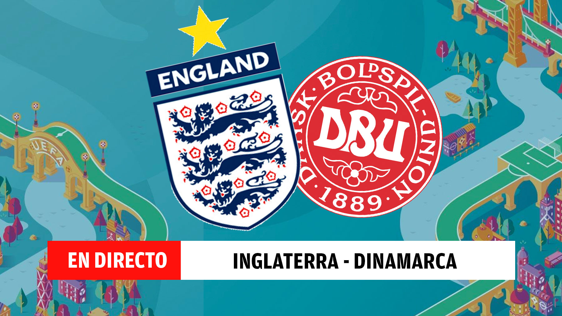 Inglaterra – Dinamarca | Eurocopa 2020, en directo