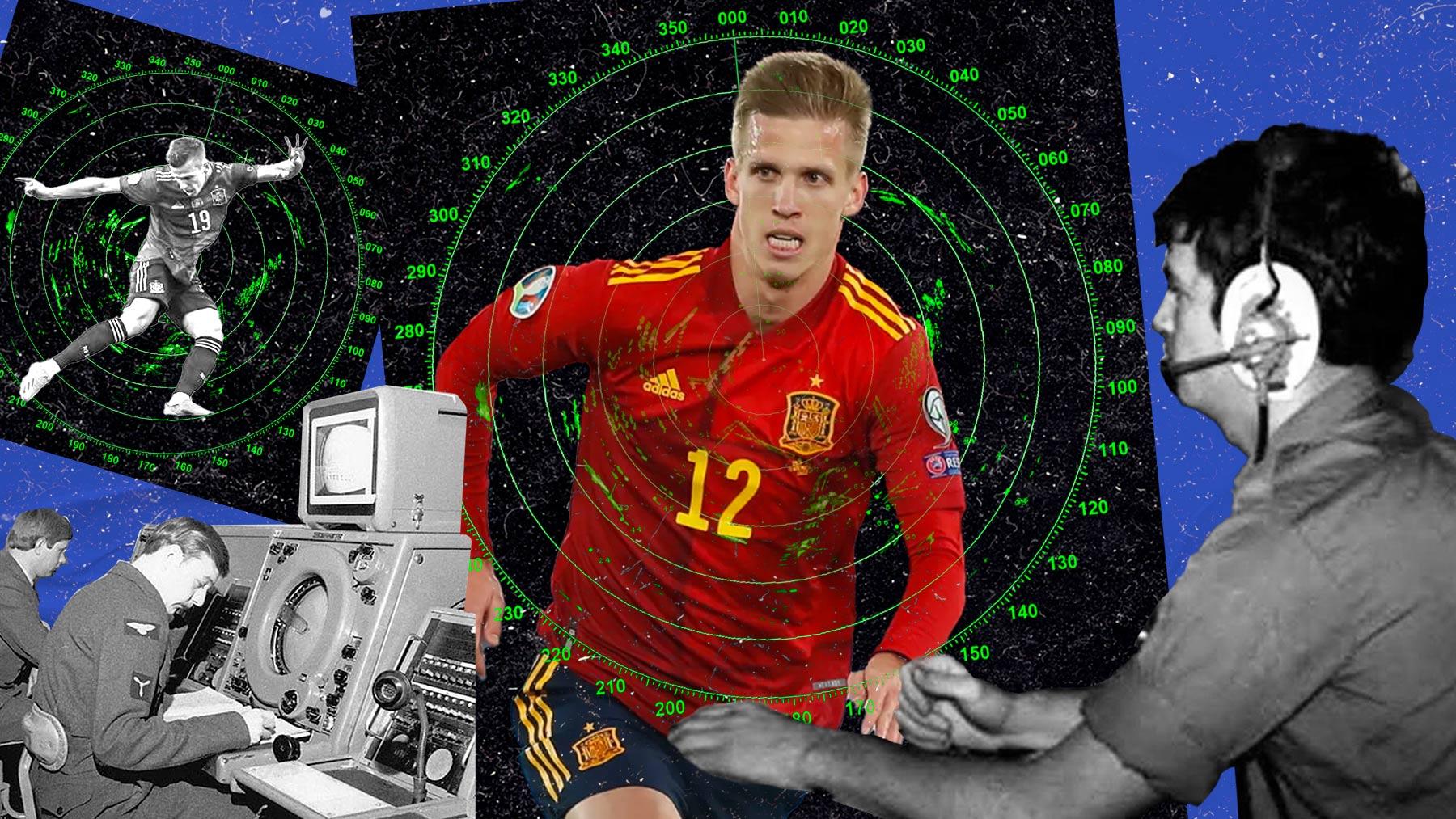 Dani Olmo, jugador de la selección española.