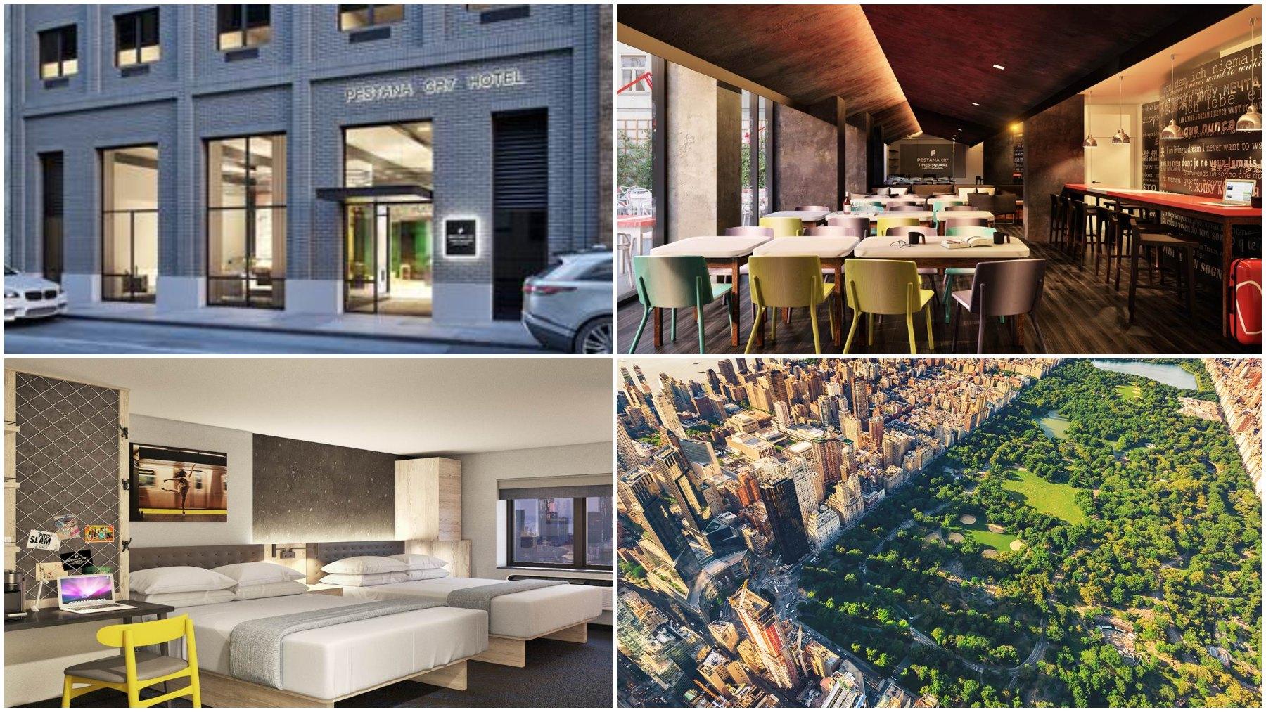 El hotel 'Pestana CR7 Times Square'