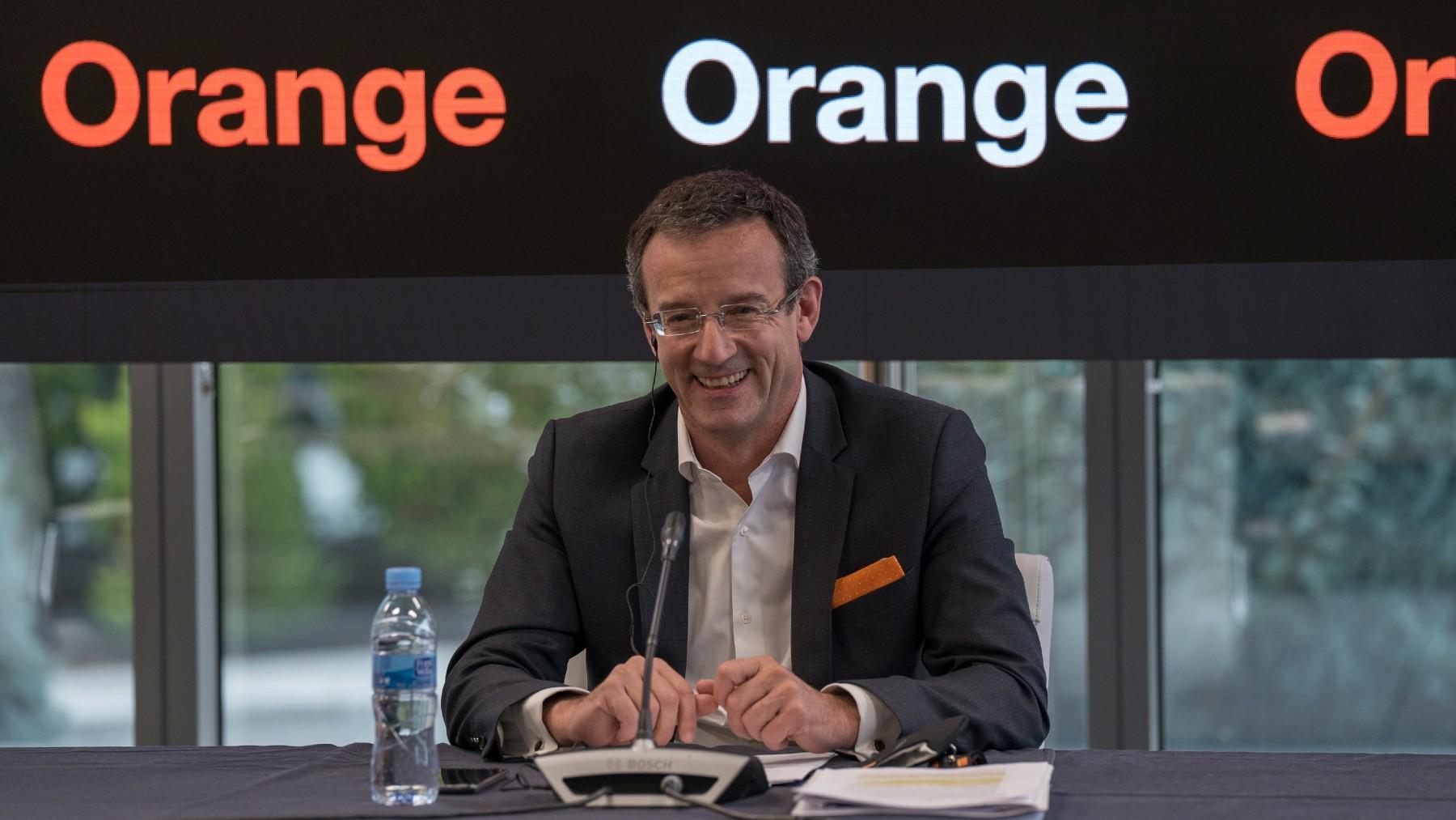 Jean-François Fallacher, consejero delegado de Orange.