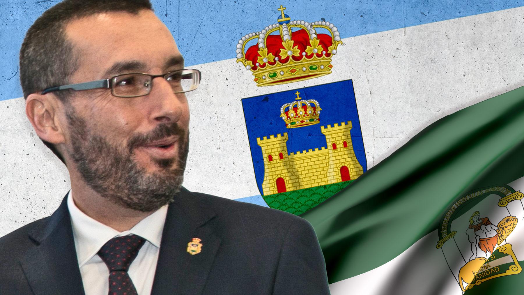 Juan Franco, alcalde de La Línea de la Concepción (Cádiz).