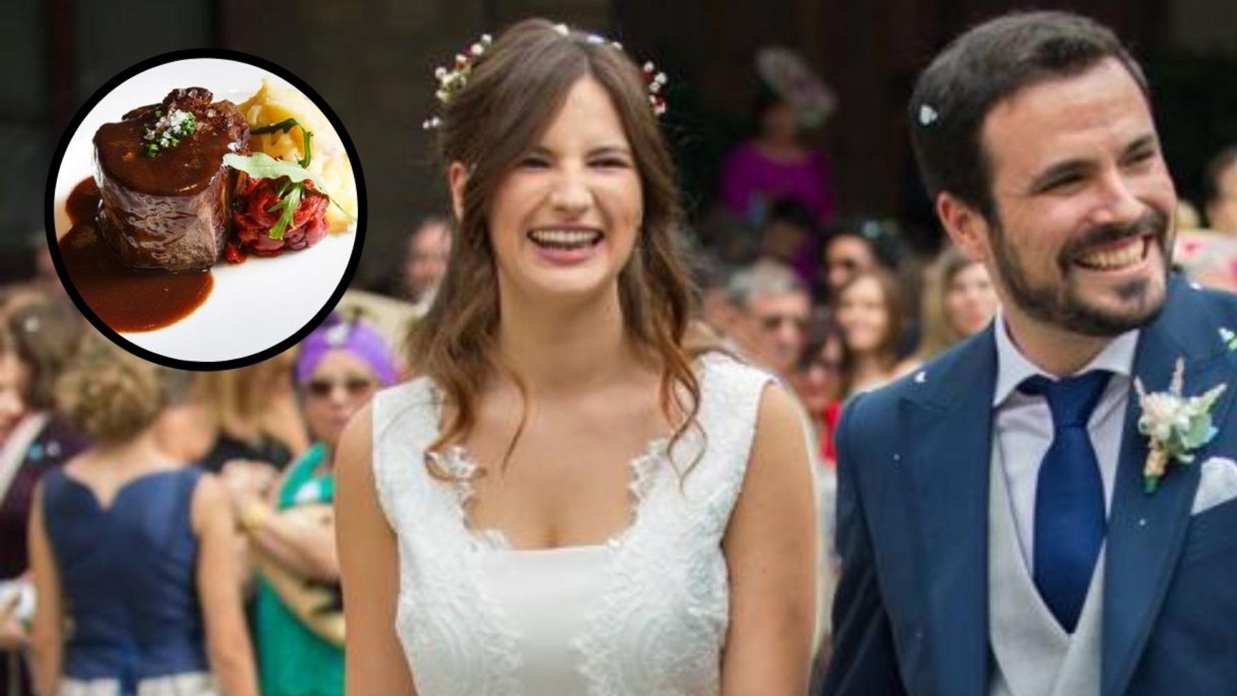 Boda de Alberto Garzón y Anna Ruiz.