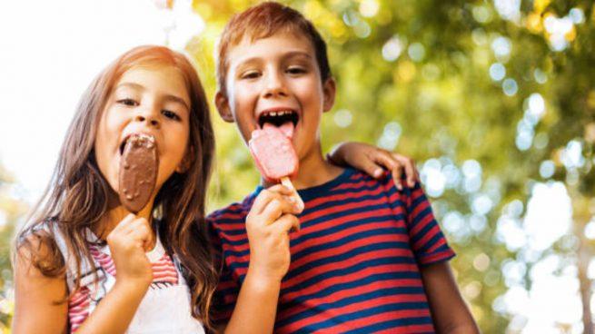 helado niños