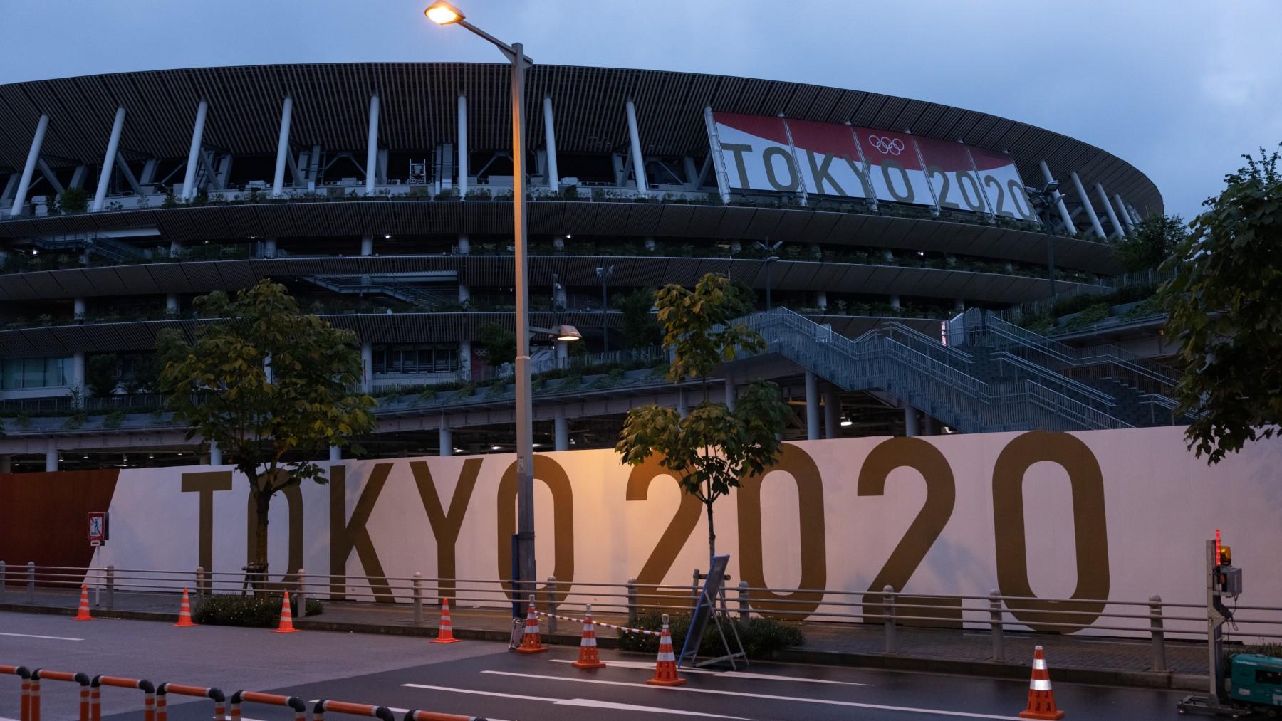 El estadio principal de los Juegos Olímpicos de Tokio. (Getty)