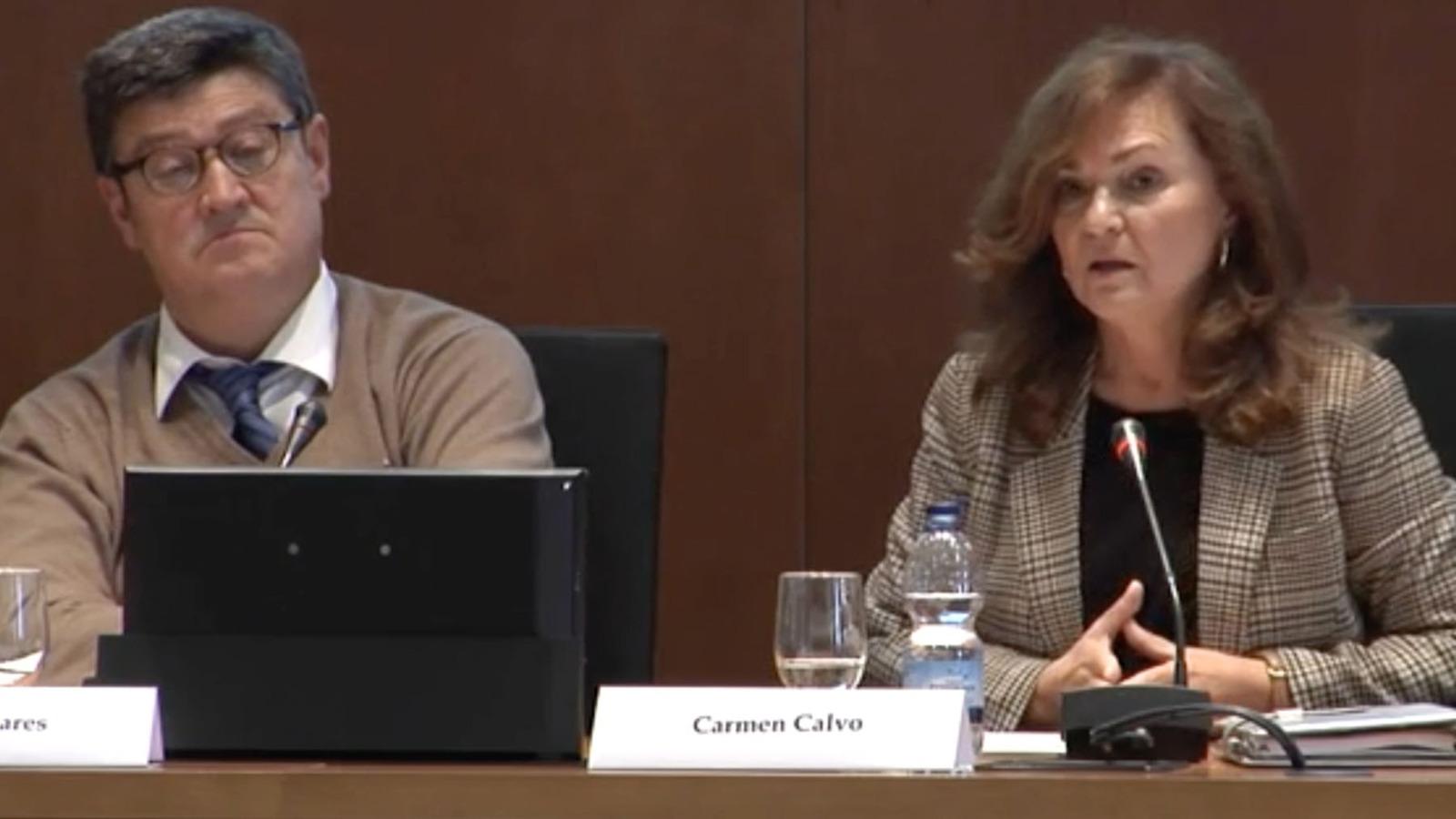 Carmen Calvo en noviembre de 2013.