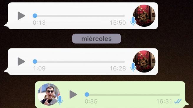 recuperar audio WhatsApp