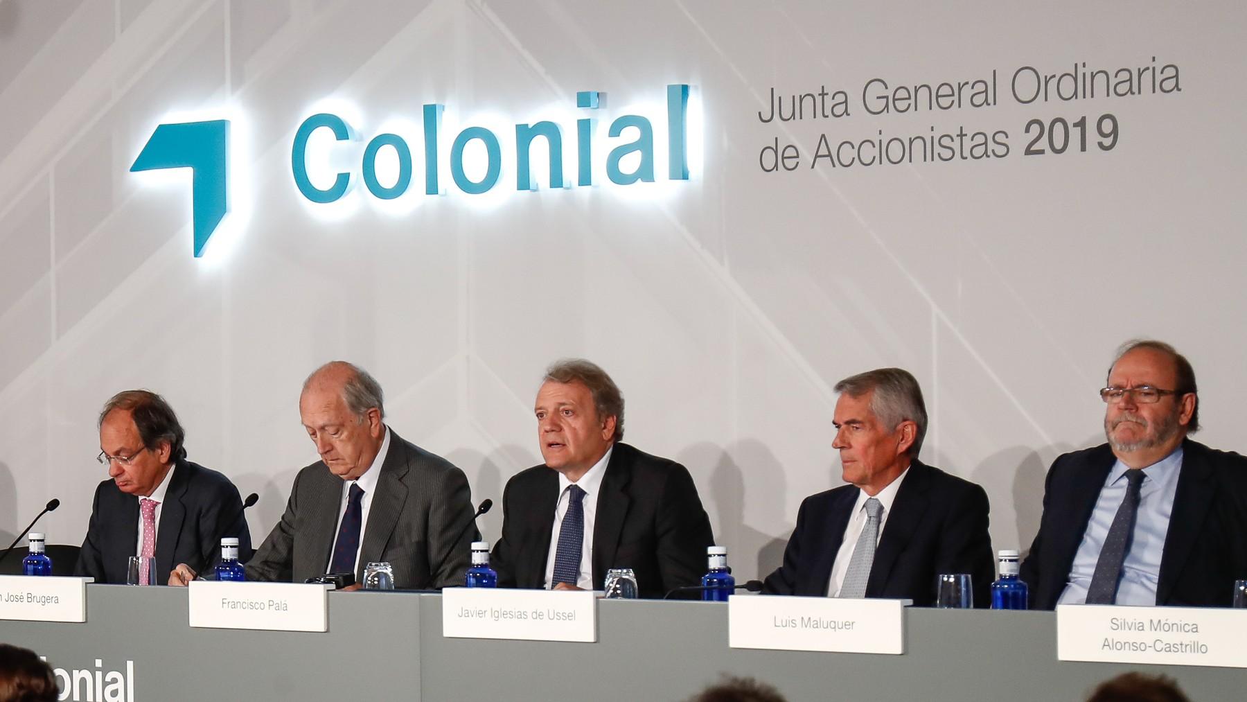 Junta de Inmobiliaria Colonial.