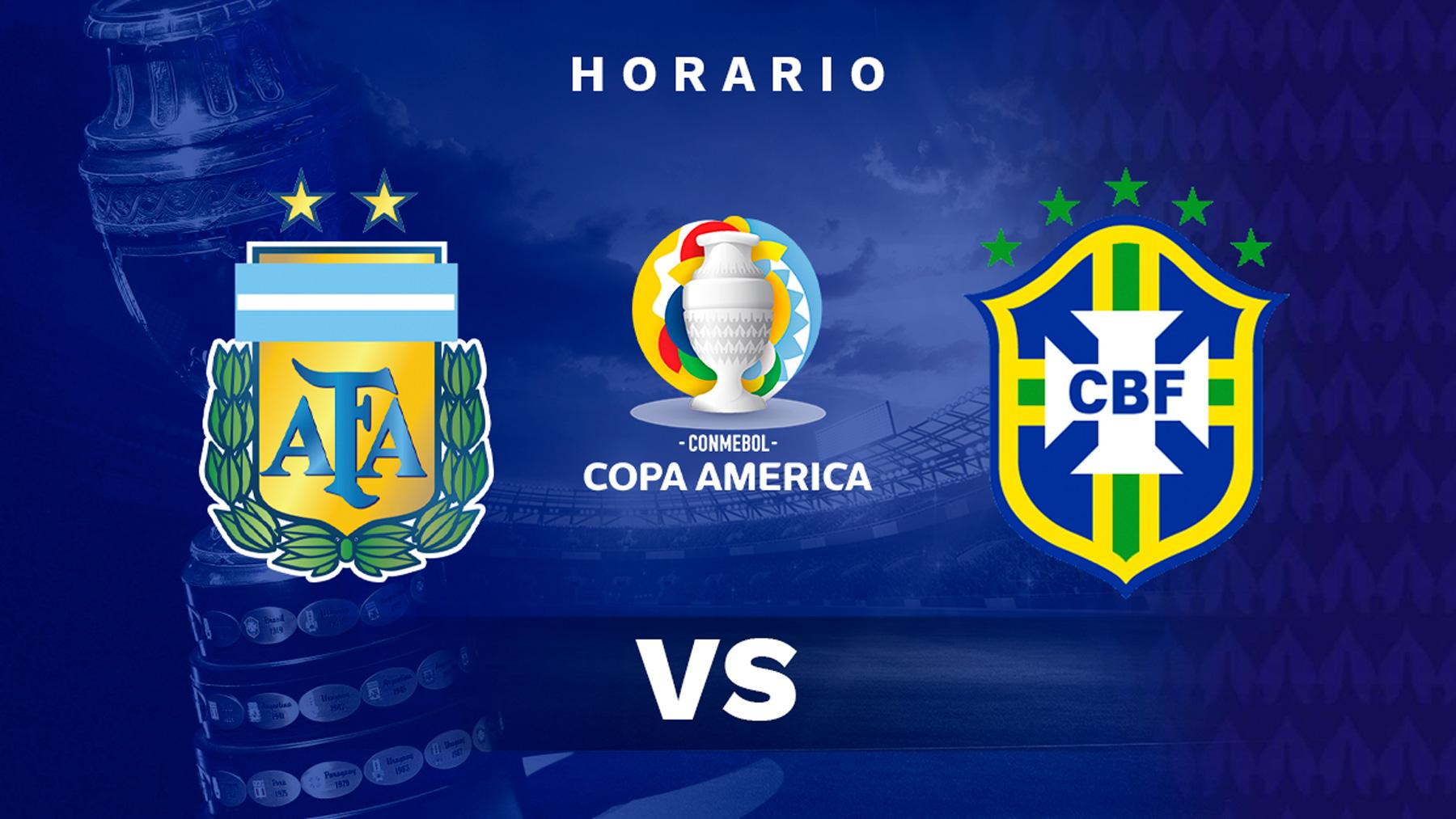 Copa América 2021: Argentina – Brasil| Horario del partido de fútbol de la Copa América.