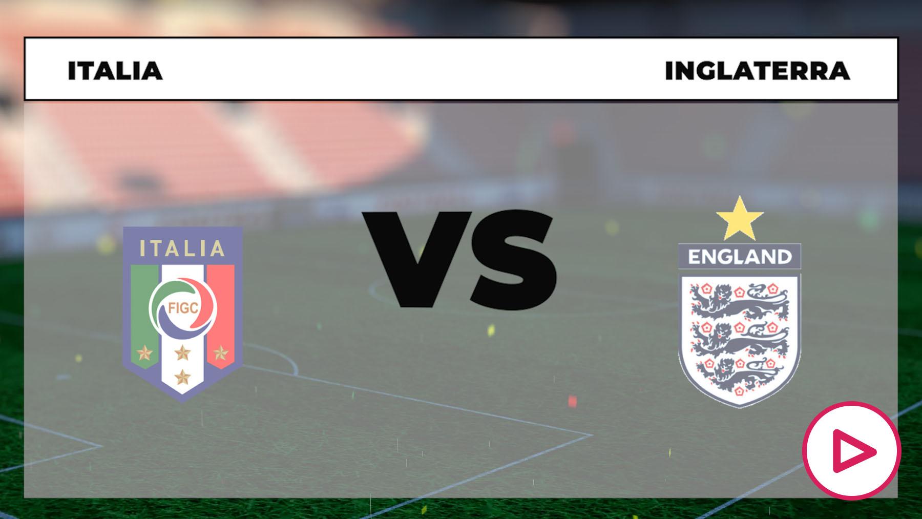 Eurocopa 2021: Italia – Inglaterra Horario del partido de fútbol de la Eurocopa.