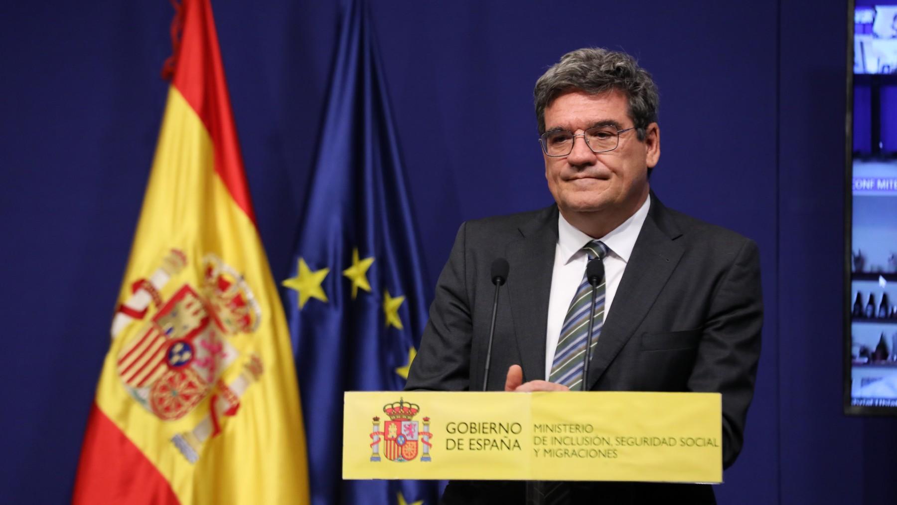 El ministro de Inclusión y Seguridad Social, José Luis Escrivá. (Foto: Europa Press)