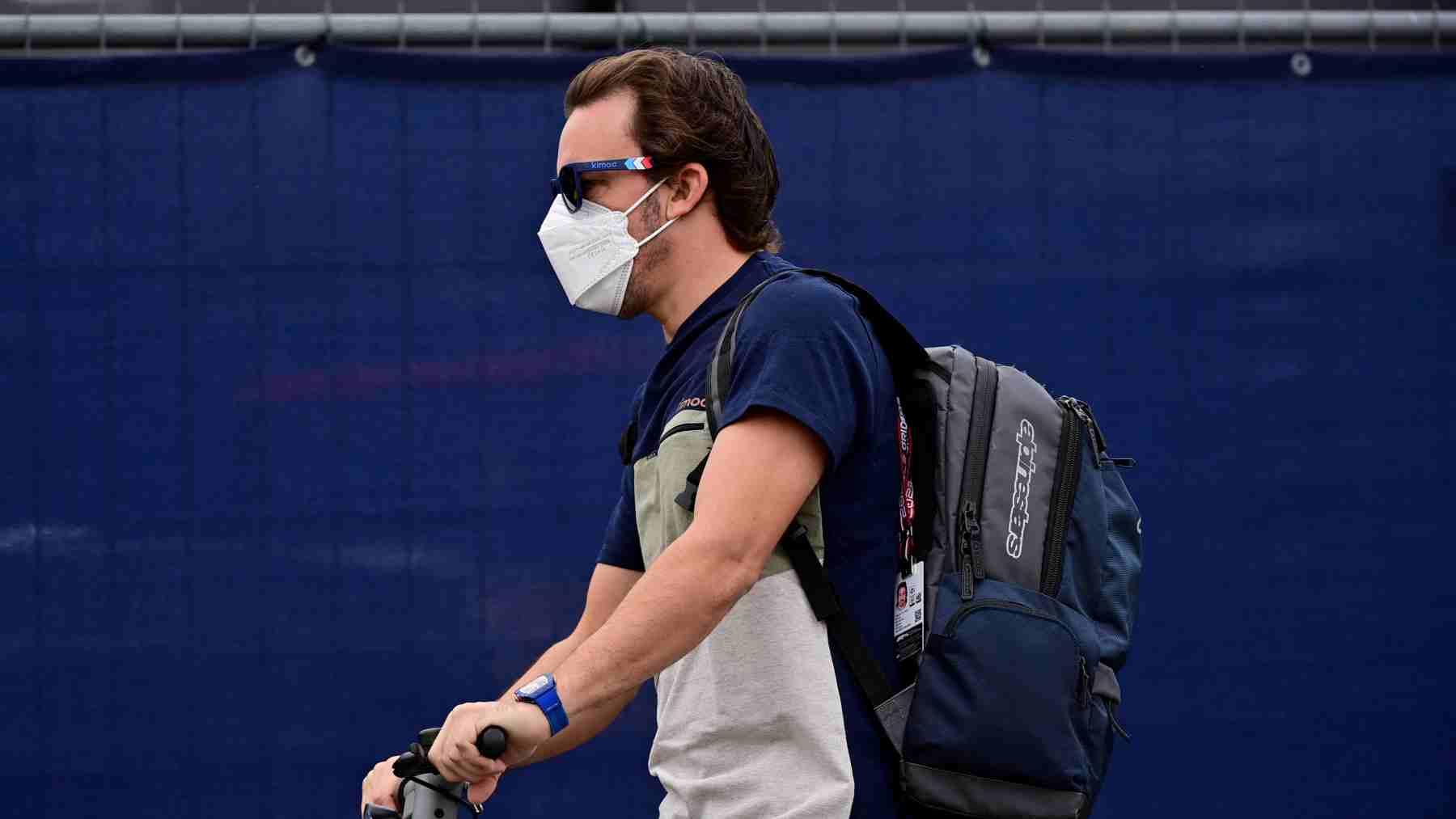 Fernando Alonso, piloto de Alpine. (AFP)