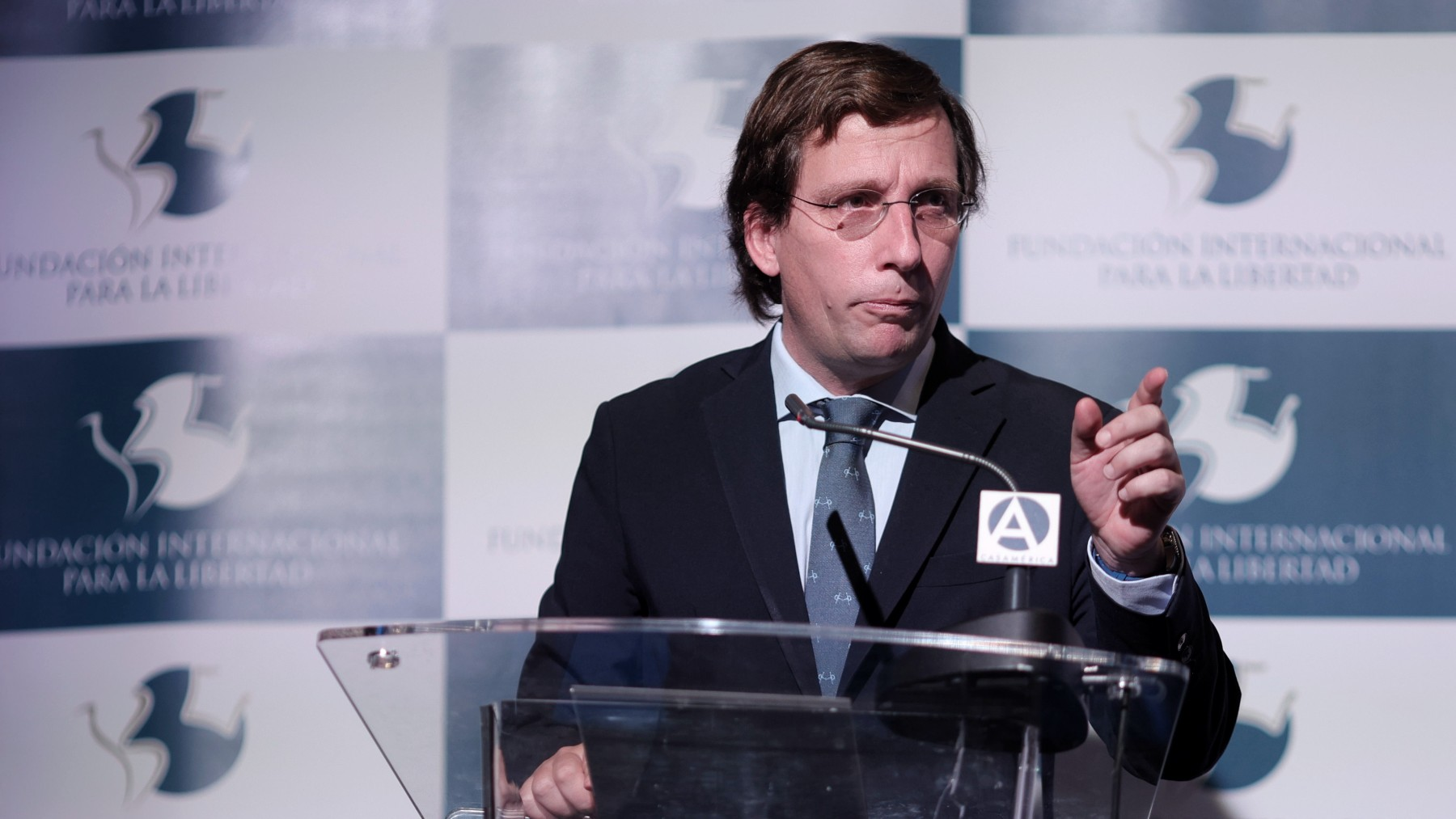 El alcalde de Madrid, Martínez-Almeida.