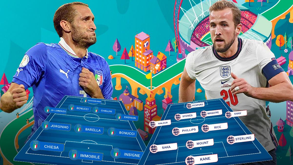 Italia e Inglaterra jugarán la final de la Eurocopa 2020 en Wembley.